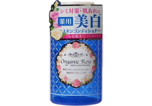 Увлажняющий гель-кондиционер для кожи лица с осветляющим эффектом Organic Rose (экстракт дамасской розы и плаценты), Meishoku 200 г, фото
