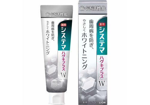 Зубная паста для профилактики болезней десен и при белизны зубам Lion  95 г, фото