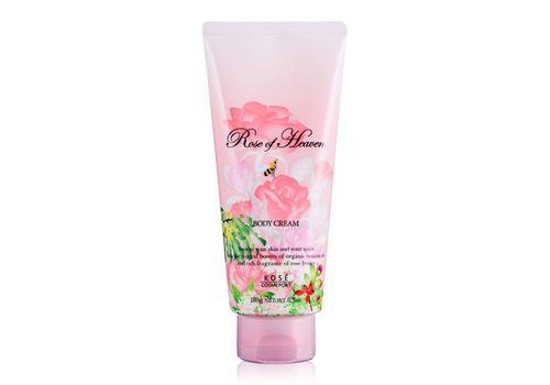 Увлажняющий крем для тела с ароматом розы Rose of Heaven, Kose Cosmeport   180 г, фото