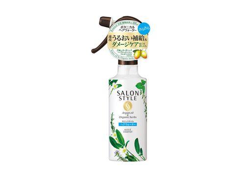 Восстанавливающая вода для волос, выпрямляющая, Hair Treatment Water спрей Salon Style botanical, Kose Cosmeport  250 мл, фото
