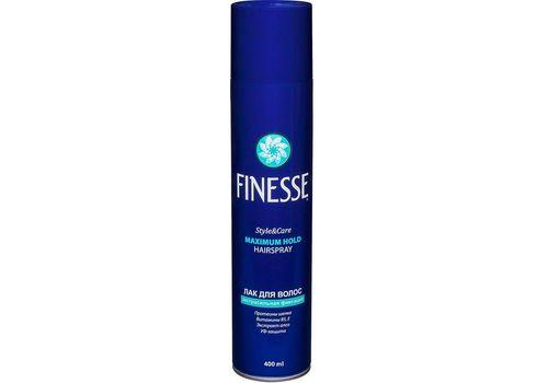 Лак для волос экстрасильной фиксации Maximum Hold Hairspray, FINESSE  400 мл, фото