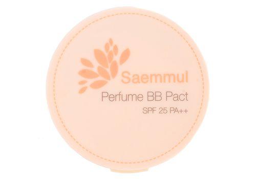 Пудра компактная ароматизированная Saemmul Perfume BB Pact SPF25 PA++, тон № 23 Cover Beige (бежевый), Saem  20 г, фото