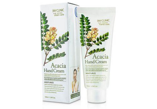 Увлажняющий крем для рук с питательным экстрактом акации Acacia Hand Cream, 3W Clinic  100 мл, фото