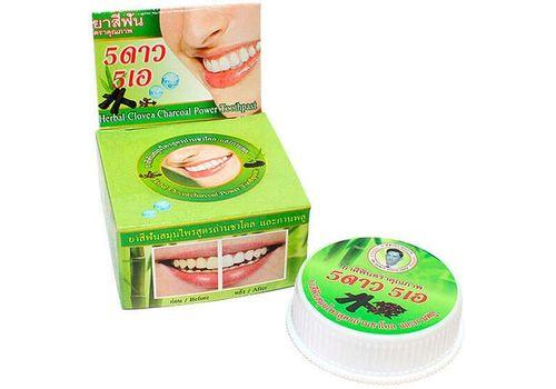 Зубная паста с экстрактом угля бамбука ISME Rasyan, 5 Star Cosmetic  25 г, фото