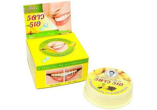 Зубная паста с экстрактом манго ISME Rasyan, 5 Star Cosmetic  25 г, фото