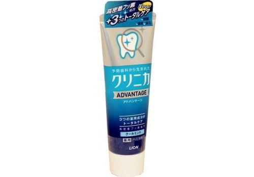 Зубная паста комплексного действия (аромат цитрусовой мяты) Clinica Advantage Soft mint с витамином Е, Lion 130 мл, фото