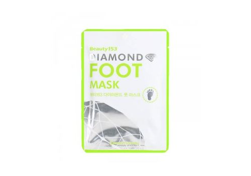 Маска для ног Beauty153 Diamond Foot Mask, BEAUUGREEN 13 г х 2, фото