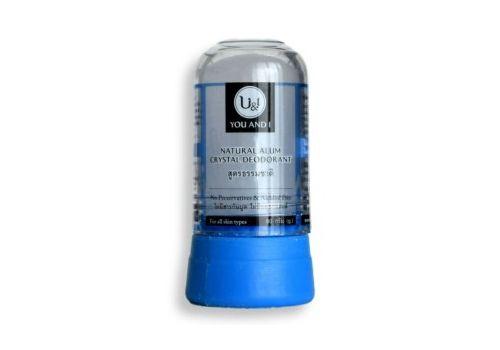 Дезодорант кристаллический натуральный Stick body deodorant natural U&I 80 г, фото