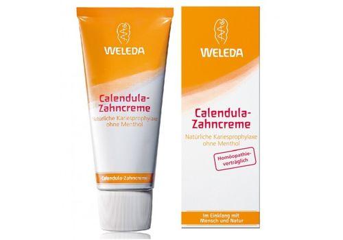 Зубная паста с календулой без запаха мяты, Weleda,  75 мл, фото