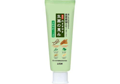 Зубная паста с ароматом трав Hitech-Herb, Lion 90 г (в коробке), фото