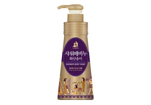 Жидкое мыло для тела Белый Мускус Shower Body Soap White Musk Perfume, Mukunghwa  900 мл, фото
