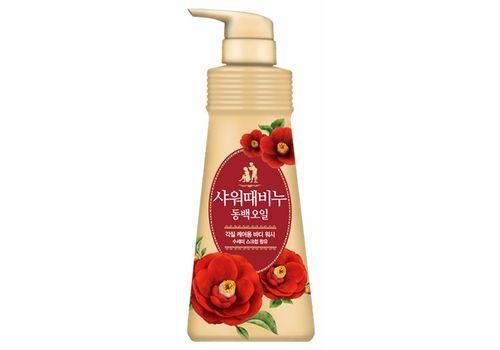 Жидкое мыло для тела Камелия Shower Body Soap Camellia Seed Oil Perfume, Mukunghwa  500 мл, фото