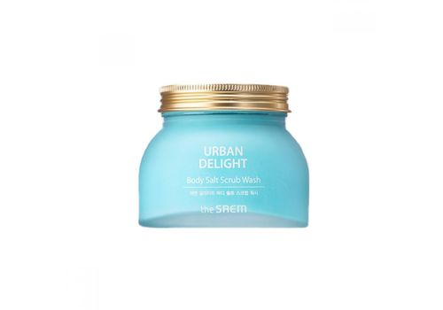 Скраб для тела с морской солью Urban Delight Body Salt Scrub Wash, THE Saem  320 г, фото