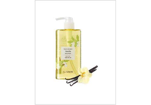 Гель для душа ванильный Touch On Body Vanilla Body Wash, THE Saem  300 мл, фото