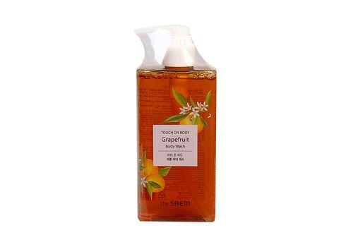 Гель для душа грейпфрутовый Touch On Body Grapefruit Body Wash, THE Saem  300 мл, фото