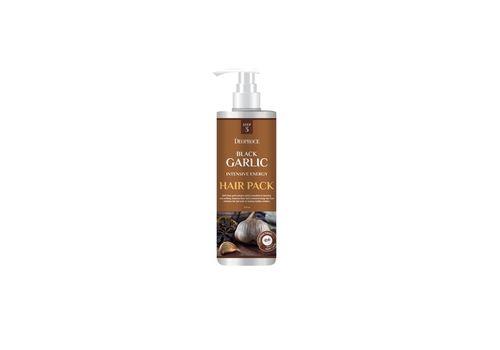Маска для волос с экстрактом чёрного чеснока Black Garlic Intensive Energy Hair Pack, Deoproce  1000 мл, фото