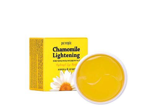 Патчи для глаз с экстрактом ромашки Chamomile Lightening Hydrogel Eye Patch, Petitfee  60 шт, фото
