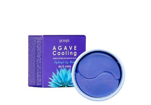 Охлаждающие гидрогелевые патчи с экстрактом агавы Agave Cooling Hydrogel Eye Patch, Petitfee  60 шт, фото