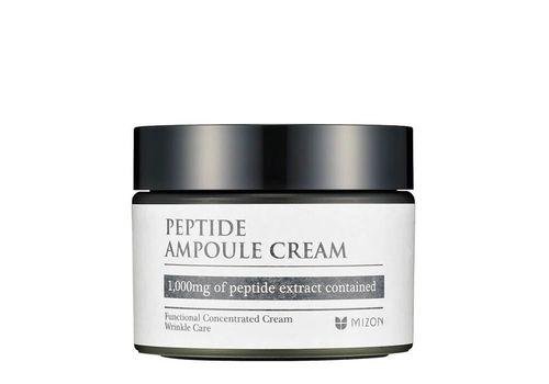 Концентрированный пептидный крем для возрастной кожи лица Peptide Ampoule Cream, Mizon  50 мл, фото
