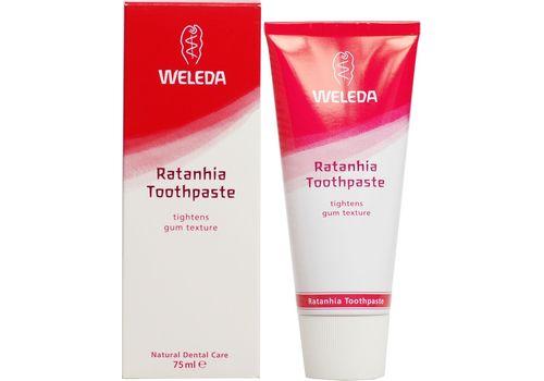 Растительная зубная паста Ратания, Weleda 75 мл, фото