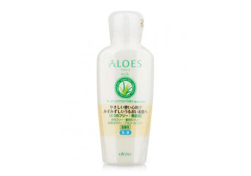Увлажняющее молочко с экстрактом алоэ вера Aloes, Utena 160 мл, фото