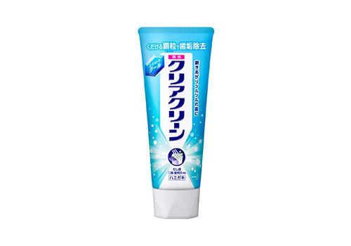 Освежающая лечебно-профилактическая зубная паста Clear Clean Extra Cool, с микрогранулами, вкус мяты, KAO 130 г, фото