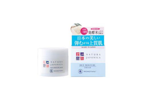 Увлажняющий крем с экстрактом ферментированного риса Natura Japonica Rice Moisture Cream, Momotani 48 г, фото