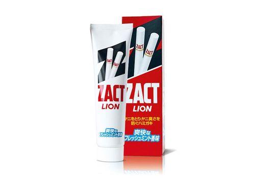 Зубная паста для устранения никотинового налета и запаха табака Zact, Lion 150 г, фото
