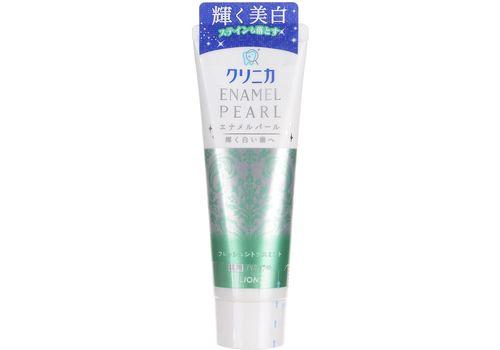 Зубная паста Clinica Enamel Pearl (отбеливающая, аромат цитрусовых и мяты), Lion 130 г, фото