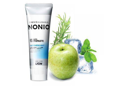 Профилактическая зубная паста Nonio (аромат трав и мяты), Lion 130 г, фото