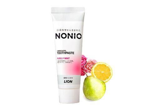 Профилактическая зубная паста Nonio (аромат фруктов и мяты), Lion 130 г, фото