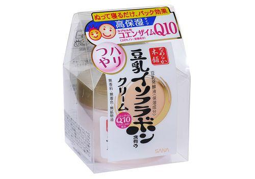 Увлажняющий крем с изофлавонами сои и капсулированным коэнзимом Q10, SOY MILK,  Sana 50 г, фото