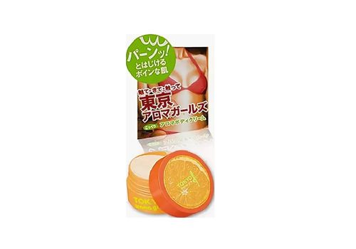 Крем для тела Tokyo Aroma Girls (аромат апельсина), Sana 50 г, фото