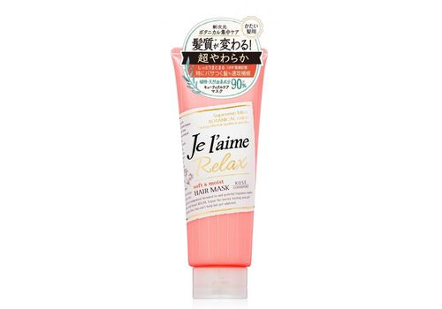 Маска для жестких волос Мягкость и увлажнение, фруктово-цветочный аромат Je laime, Kose Cosmeport  (туба) 230 мл, фото
