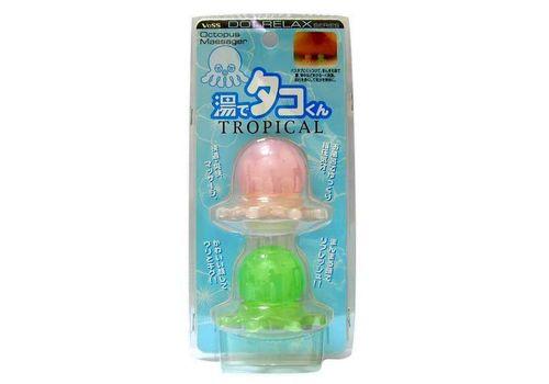 Массажер для точечного массажа тела Тропические осьминожки Tako tropical tsubo oshi, Vess, фото