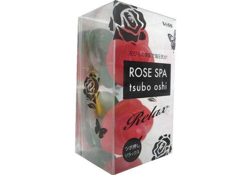 Массажер для точечного массажа тела Роза Rose spa tsubo oshi, Vess, фото