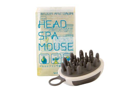 Массажер для кожи головы «компьютерная мышь» Head spa mouse, Vess, фото